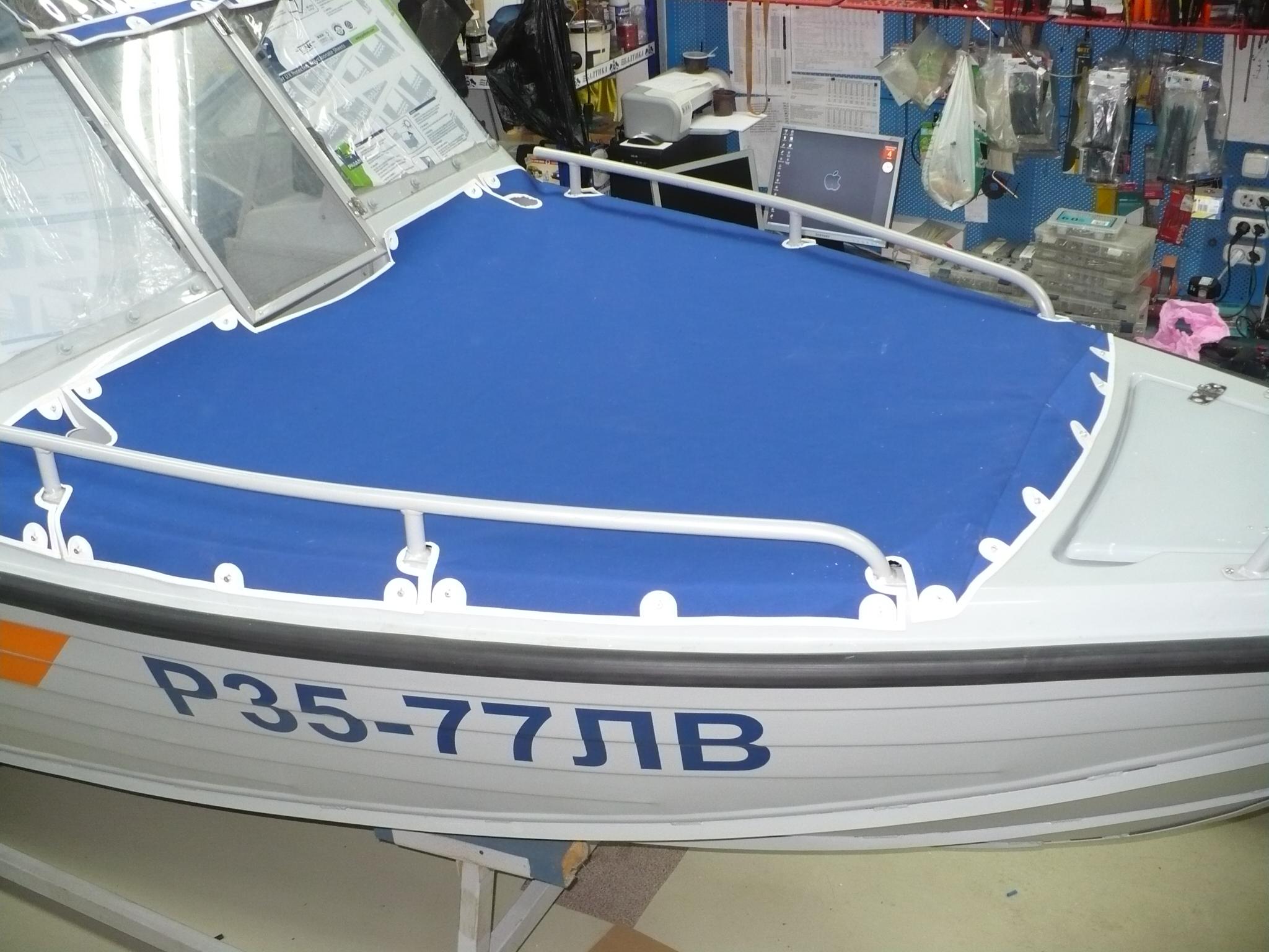 купить носовой тент на лодку вельбот